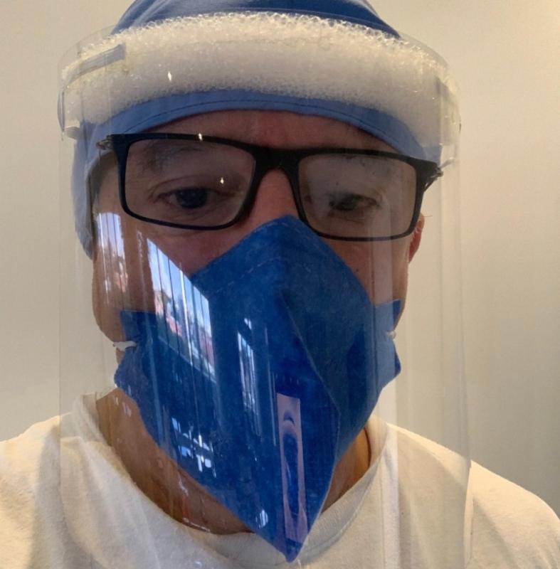 Máscara de Proteção Face Shields