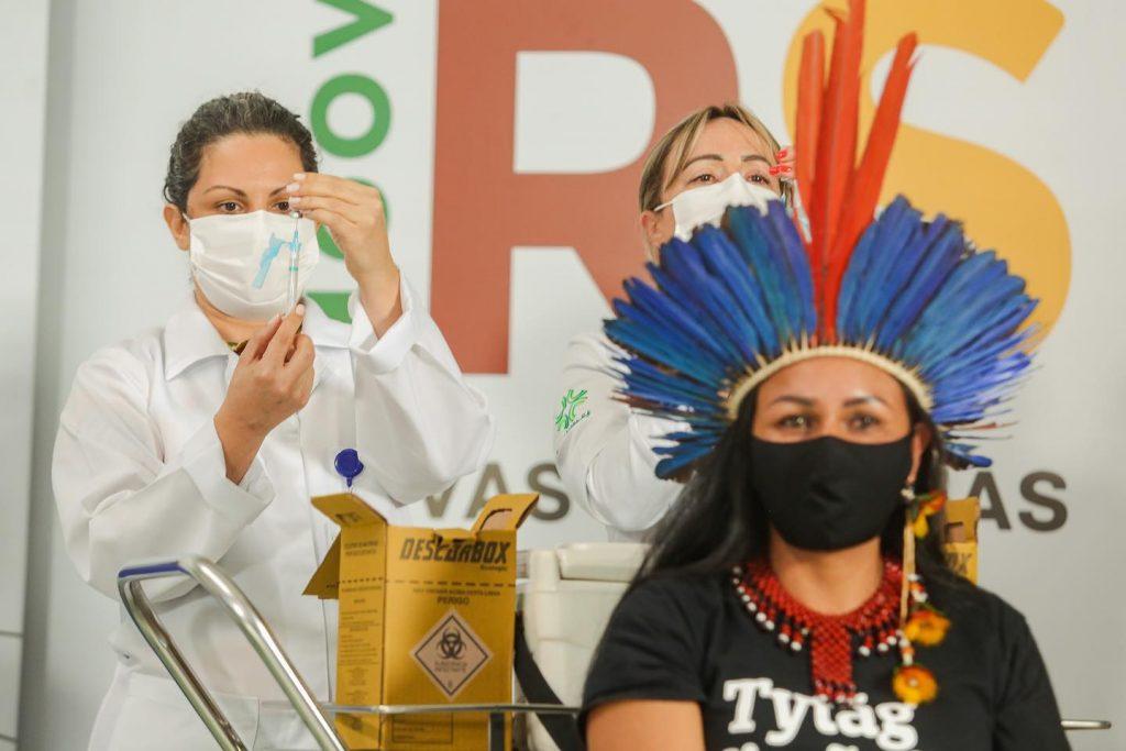 Vacinação no Rio Grande do Sul